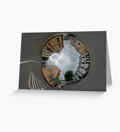 Carrick Crossroads, Donegal - Sky In Greeting Card