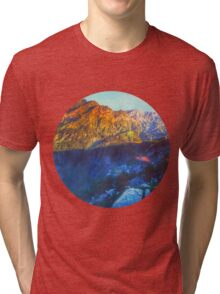 Himalaya Mountain View Tri-blend T-Shirt
