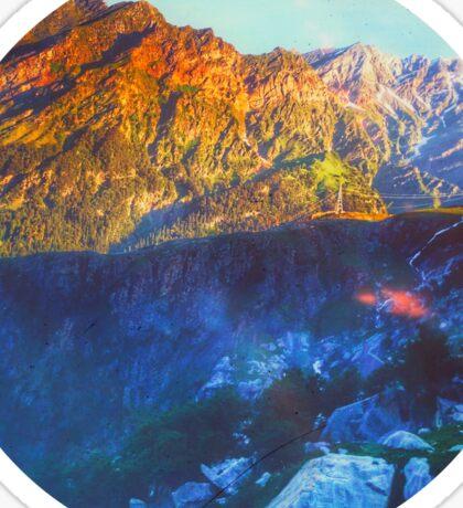 Himalaya Mountain View Rohtang  Sticker