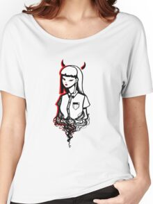 Devilish the First Women's Relaxed Fit T-Shirt