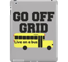 Go Off Grid iPad Case/Skin