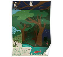 Woodland Poster