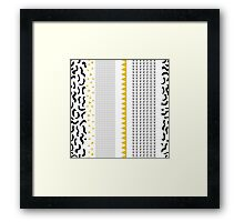 Abstract crazy Framed Print