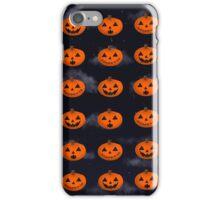 Jack-o-Lantern pattern iPhone Case/Skin