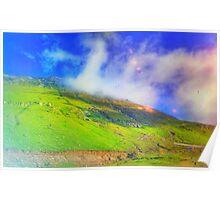Mountaintop Rohtang Himalaya Poster