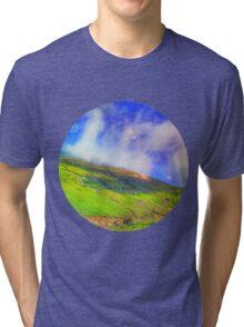 Mountaintop Rohtang Himalaya Tri-blend T-Shirt