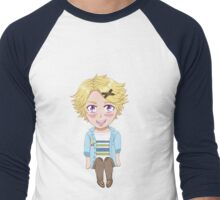 Chibi Yoosung Kim Men's Baseball ¾ T-Shirt