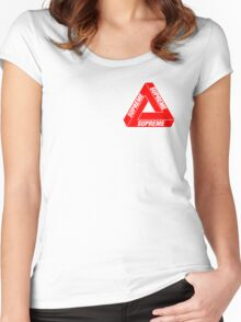 Supreme Penrose Women's Fitted Scoop T-Shirt