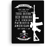 American Patriot Canvas Print