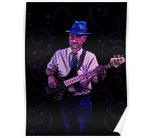 Blue Hat Bluesman Poster