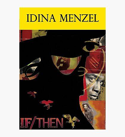 Idina Menzel Broadway Shows Photographic Print