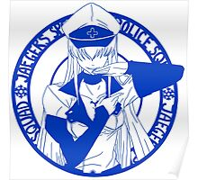 Jaegers Special Police Squad - Blue Poster