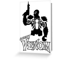 Agent V. Greeting Card