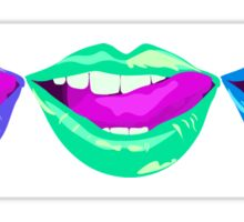 Color Lips  Sticker