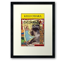 Kelli O'Hara Broadway Shows Framed Print