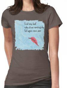 New Year Haiku 2014 Womens Fitted T-Shirt