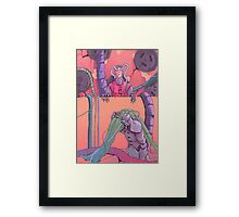 Overlord Framed Print
