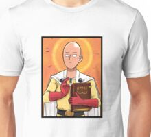 saitama_christ_one_man_punch Unisex T-Shirt