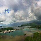 Pohnpei Island Panorama - Pohnpei, Micronesia by Alex Zuccarelli