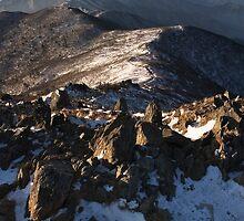 Mountain Ridge - Deogyusan National Park, South Korea by Alex Zuccarelli