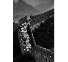 Great Wall of China - Miyun, China Photographic Print