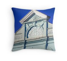 """""""Back to the Future"""" Throw Pillow"""
