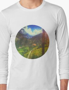 Valley Window View Long Sleeve T-Shirt