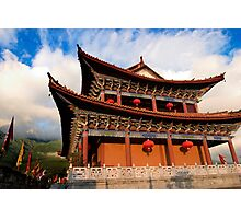 Temple on the Wall - Dali, China Photographic Print