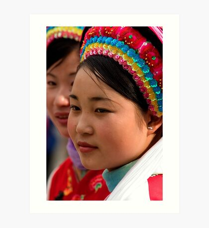 Tour Guides - Dali, China Art Print