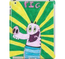 Pig From Pig Goat Banana Cricket Drawing iPad Case/Skin