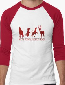 Moony, Wormtail, Padfoot and Prongs Men's Baseball ¾ T-Shirt