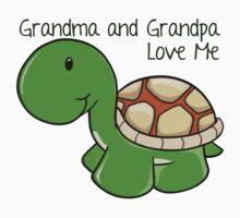 Grandma and Grandpa Love Me Kids Tee