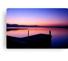 Salton Sea Sunset - North Shore, California Canvas Print