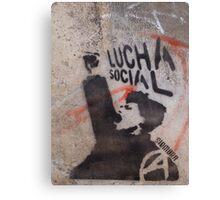 valparaiso lucha social Canvas Print