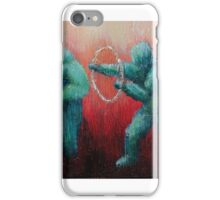 Circus Hoops by 'Donna Williams' iPhone Case/Skin