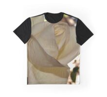 Ivory rose against the sky Graphic T-Shirt