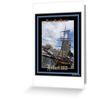 *Wooden Boat Festival Hobart* Greeting Card