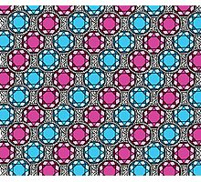 Bejeweled Blue Photographic Print