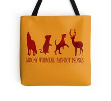 Moony, Wormtail, Padfoot and Prongs Tote Bag