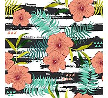 Tropical floral  Photographic Print