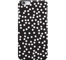 Cute Black and White Polka Dots iPhone Case/Skin