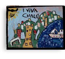 valparaiso viva chile Canvas Print