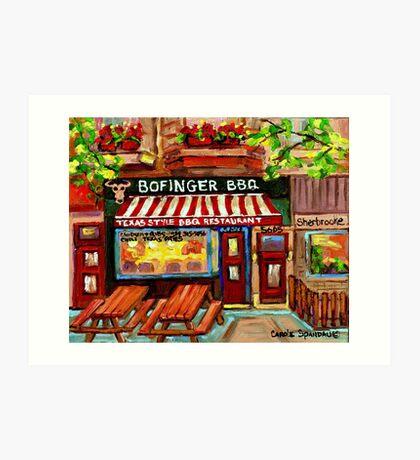 BOFINGER STEAKHOUSE N Art Print