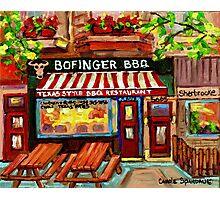 BOFINGER STEAKHOUSE N Photographic Print