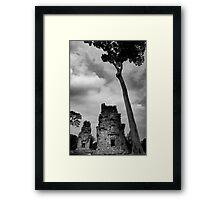 Crumbling Towers - Angkor Thom, Cambodia Framed Print
