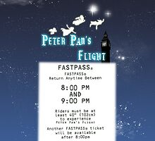 Peter Pan's Flight- Fastpass by Margybear