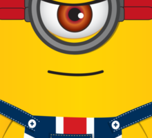 Union Jack Minion Sticker
