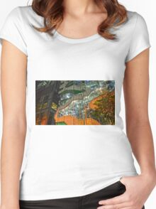 Facade Women's Fitted Scoop T-Shirt