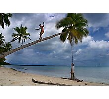 And Funambulist - Pohnpei, Micronesia Photographic Print