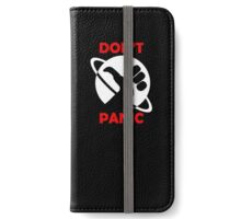 Hitchhikers Guide To The Galaxy - Don't Panic iPhone Wallet/Case/Skin